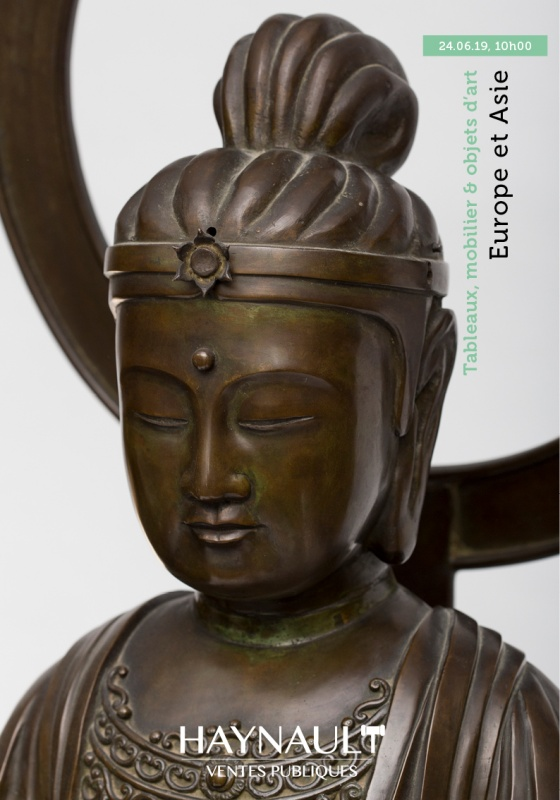 Results of the auction: Paintings, furniture and antiques from Europe and Asia